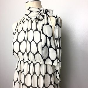 Diane Von Furstenberg Silk Charade Polka Dot Dress